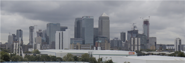 London Skyline always impresses